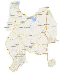 Werkgebied Belbus