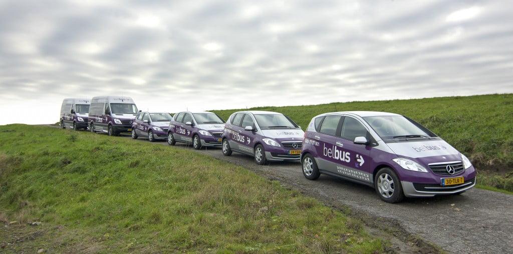 Belbus Noordkop - foto bussen